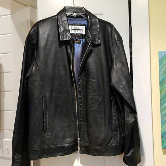 cea389b52 Pelle Studio Jackets & Coats   Mens Leather Jacket Made By Wilsons ...